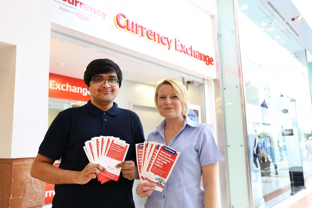 No1 Currency Opens Foreign Exchange In Merry Hill Ping Centre Creating Three Jobs