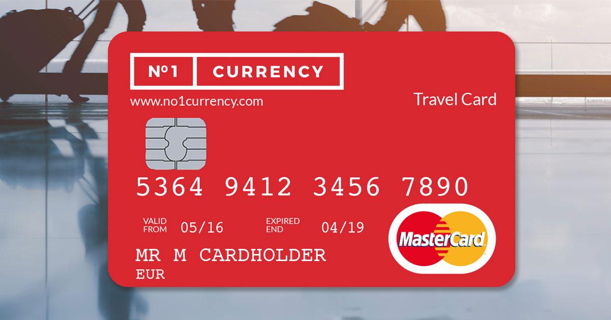travel money card prepaid travel card no1 currency - Mastercard Travel Card