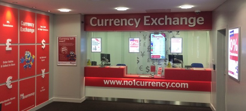No 1 Currency Opens Exchange In Cheshire Oaks Creating Three Jobs
